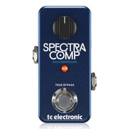 TC Electronic SpectraComp Bass Compressor Bass Guitar Effects Pedal
