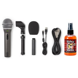 Image for Q2U Dynamic USB/XLR Microphone with Sanitizer Pack from SamAsh