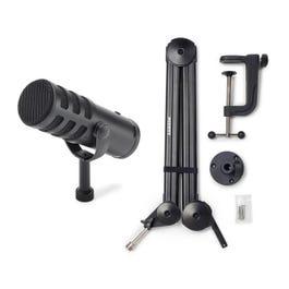 Samson Q9U Dynamic Broadcast Microphone with MB28 Boom Arm