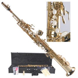 Image for S600 Soprano Saxophone (Clear Lacquer with High F#) from SamAsh