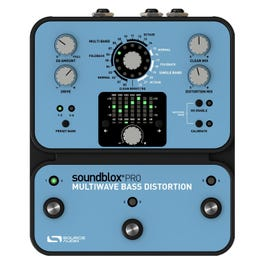 Image for Soundblox Pro Multiwave Bass Distortion Effects Pedal from SamAsh