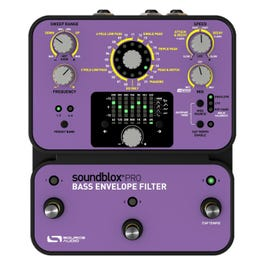 Image for Soundblox Pro Bass Envelope Filter Effects Pedal from SamAsh