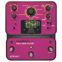 Image for Soundblox Pro Poly-Mod Filter Guitar Effects Pedal from SamAsh
