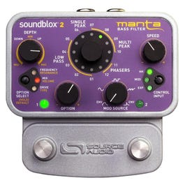 Image for Soundblox 2 Manta Bass Filter Effects Pedal from SamAsh