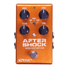 Image for One Series AfterShock Bass Distortion Bass Effect Pedal from SamAsh