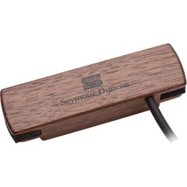 Seymour Duncan SA-3HC Woody Hum Cancelling Steel String Acoustic Guitar Pickup, Walnut