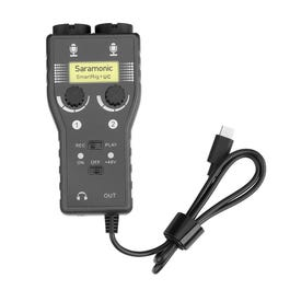 Saramonic SmartRig+ UC Two-Channel Audio Interface for USB Type-C Android Devices and PC's
