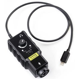Saramonic SmartRig-Di XLR Smartphone Microphone Audio Adapter with iOS Lightning Connector