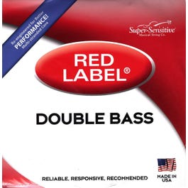 Image for Red Label Double Bass String Set (Assorted Sizes) from SamAsh