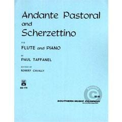 Image for Andante Pastorale And Scherzettino (Flute and Piano) from SamAsh
