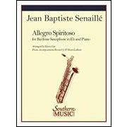 Hal Leonard Senaille-Allegro Spiritoso  Baritone Sax -Level: 4