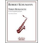 Hal Leonard Schumann Three Romances for Alto Saxophone-Level: 5
