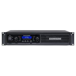 Samson SXD3000 Power Amplifier with DSP