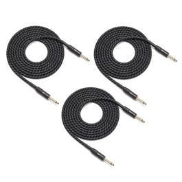 Image for Pro TPIW Woven Fabric Instrument Cables (10 ft) 3-Pack from SamAsh