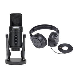 Image for G-Track Pro Professional USB Microphone with Headphones from SamAsh