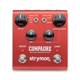 Strymon Compadre Dual Voice Boost & Compressor Guitar Effects Pedal