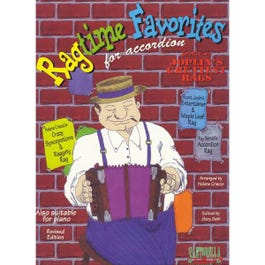 Image for Ragtime Favorites for Accordion from SamAsh