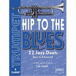 Image for Hip To The Blues / Jazz Duets for Trumpet with CD from SamAsh