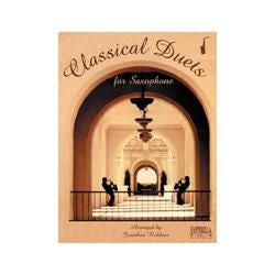 Image for Classical Duets for Alto Saxophone (Book and CD) from SamAsh
