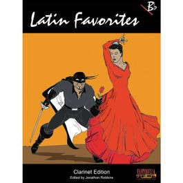 Image for Latin Favorites for Clarinet from SamAsh