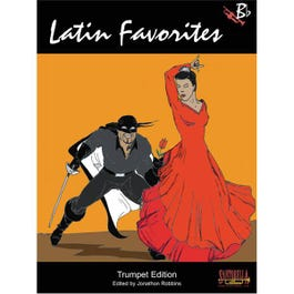 Image for Latin Favorites for Trumpet (Book & CD) from SamAsh