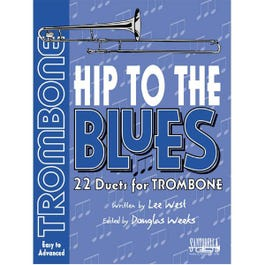 Image for Hip To The Blues / Jazz Duets Book 2 for Trombone with CD from SamAsh
