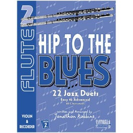 Image for Hip To The Blues / Jazz Duets Book 2 for Flute with CD from SamAsh