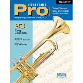 Image for Learn From A Pro Series: Trumpet with CD from SamAsh