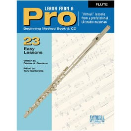 Image for Learn From A Pro Series: Flute with CD from SamAsh