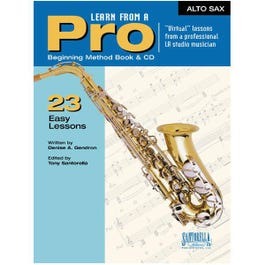 Image for Learn From A Pro Series: Alto Sax with CD from SamAsh