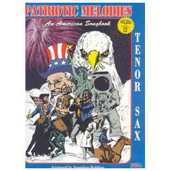 Image for Patriotic Melodies for Tenor Saxophone (Book and CD) from SamAsh