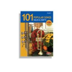 Image for 101 Popular Songs * Solos & Duets For Trumpet (Book and CD) from SamAsh