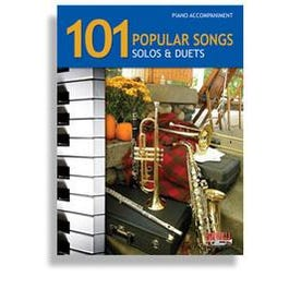 Santorella Publications 101 Popular Songs * Piano Accompaniment for Brass & Reeds (Book and CD)
