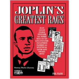 Image for Joplin's Greatest Rags Original PS with CD from SamAsh