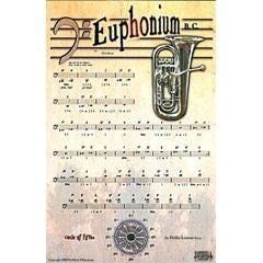 Image for Phil Black Instrumental Series Euphonium (Poster) from SamAsh