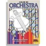 Santorella Publications Color my Orchestra: Middle School to Adult Coloring Book