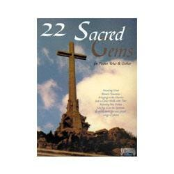 Image for 22 Sacred Gems (Piano/Vocal/Guitar) from SamAsh