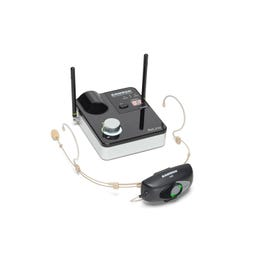 Image for AirLine 99m Headset Wireless System (D-Band) (Open Box) from SamAsh