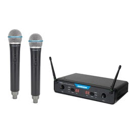 Image for Concert 288x Handheld Dual-Channel Wireless System (D Band) from SamAsh