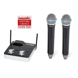 Image for Concert 288m Handheld Dual-Channel Wireless System from SamAsh