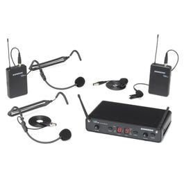 Image for Concert 288 Presentation Dual-Channel Headset & Lavalier Wireless System from SamAsh