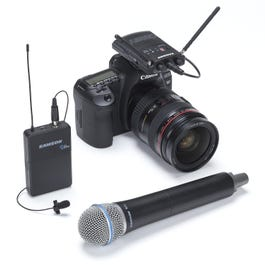 Image for Concert 88 Combo Camera UHF Wireless System from SamAsh