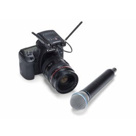 Image for Concert 88 Camera UHF Handled Wireless System from SamAsh