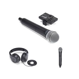 Image for Go Mic Mobile Dual Handheld Smartphone Wireless System from SamAsh