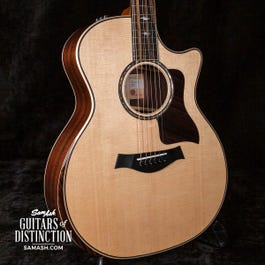 Taylor Guitars 814ce V-Class Acoustic-Electric Guitar with Armrest