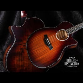 Image for 324ce Builder's Edition V-Class Grand Auditorium Acoustic-Electric Guitar from SamAsh