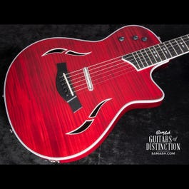 Image for T5z Pro Hollow Body Electric Guitar Borrego Red from SamAsh