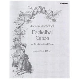 Image for Pachlebel Canon (Clarinet Solo) from SamAsh