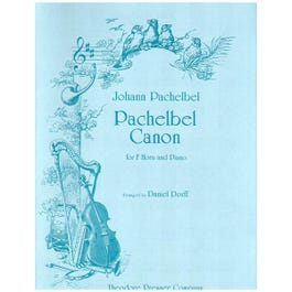 Image for Pachlebel Canon for French Horn and Piano from SamAsh