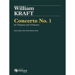 Image for Kraft- Concerto No. 1 for Timpani and Orchestra from SamAsh